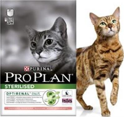 Croquettes chat Proplan sterilised saumon