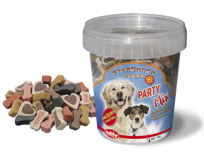 Friandises chiens Party mix 500gr