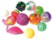 Lot de 12 balles fantaisies